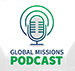 A screenshot of the Global Missions Podcast website