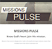 A screenshot from the Missions Pulse website
