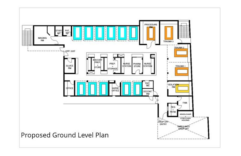 Proposed Ground Level Plan
